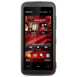 nokia 5530 xpressmusic (black red)