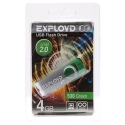 EXPLOYD 530 4GB (зеленый)