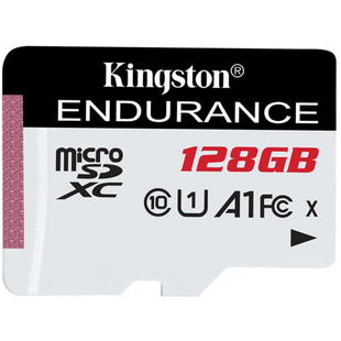 Карта памяти 128Gb microSDHC Kingston High Endurance UHS-I Class 10 U1 (SDCE/128GB)