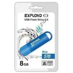 EXPLOYD 570 4GB (синий)